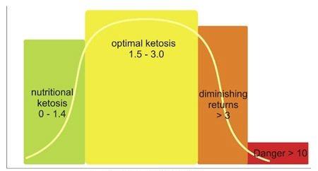 Das erklärte Ziel der ketogenen Ernährung ist das Erreichen und Verbleiben in der optimalen Zone der Ketose.