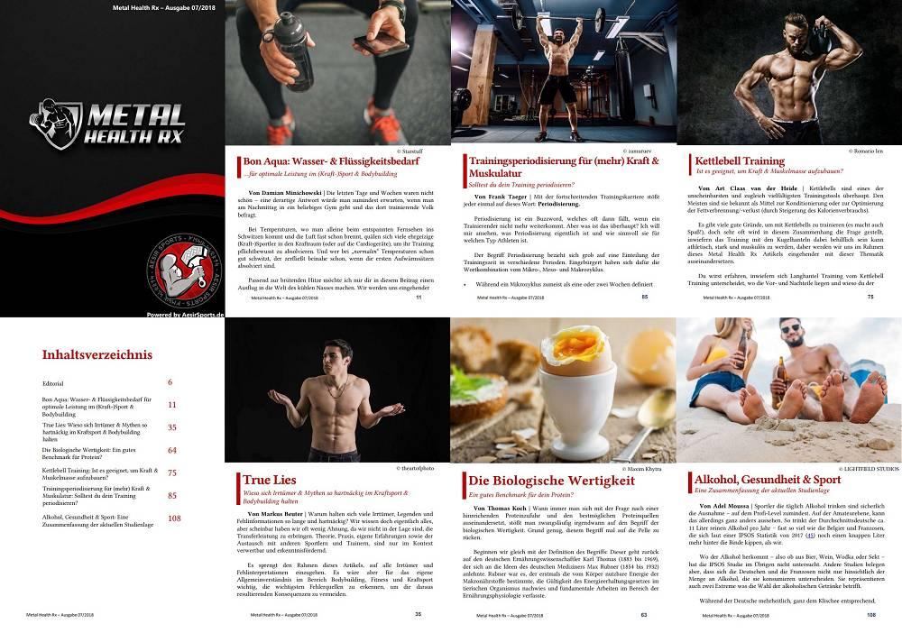 Metal Health Rx | Mitglieder-Ausgabe 07/2018