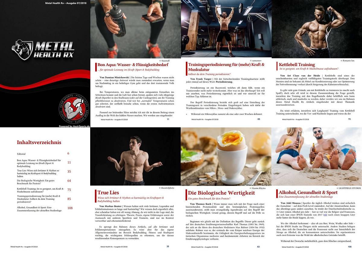 Metal Health Rx: Juli Ausgabe 2018 ab sofort erhältlich!