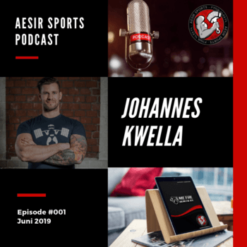Aesir Sports Podcast - Ep. #001 - Johannes Kwella