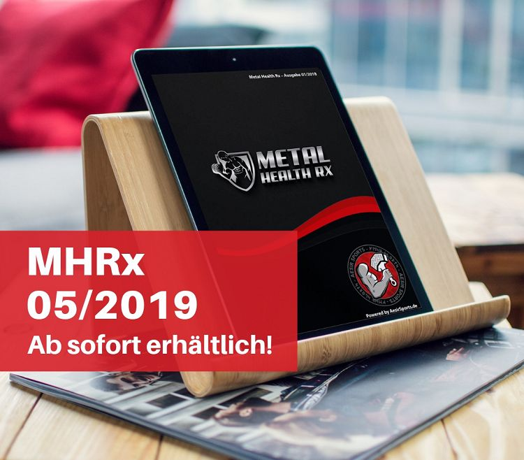 Release: Metal Health Rx – 05/2019 ab sofort erhältlich!