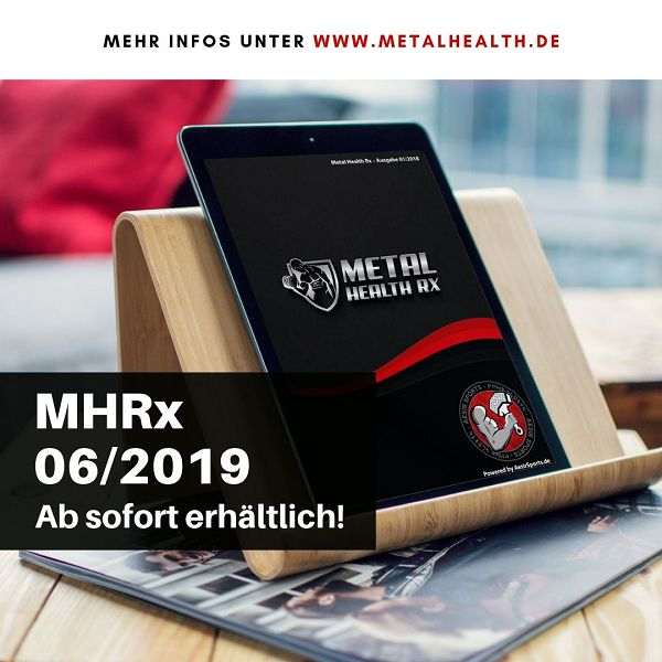 Release: Metal Health Rx – 06/2019 ab sofort erhältlich!