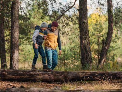 Senke Stress & Blutdruck mit Aufenthalten in der Natur & Waldspaziergängen